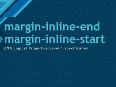 CSS свойства margin-inline-end и margin-inline-start